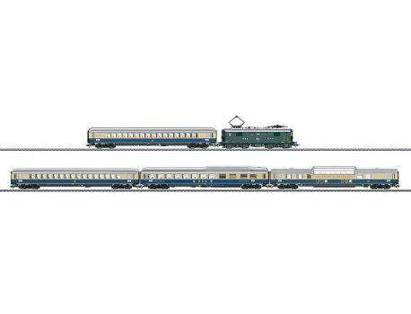 Märklin 26604 SBB TEE-Zugpackung Re 4/4 I + 4 Wagen