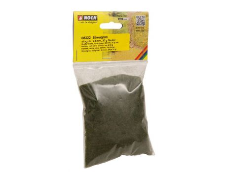 NOCH 07102 Wildgras hellgrün 50g 6mm