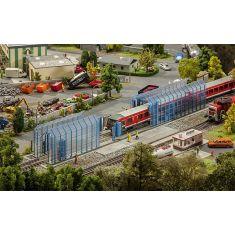 FALLER 120208 Zugwaschanlage Betriebsbahnhof  H0