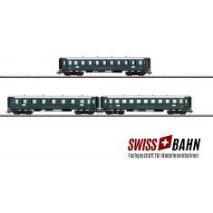 Märklin 42387 SBB Set AB4, 2. und 3. Klasse. C4, 3. Klasse