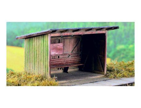 MS 98509 Alte Garage auf dem Land - LC Bausatz H0
