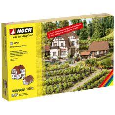 NOCH 66712 Grosses Weingut »Hauser-Bühler« in Bickensohl im Kaiserstuhl H0