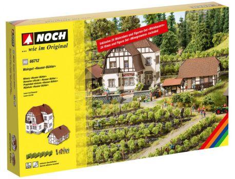 NOCH 66712 Grosses Weingut in Kaiserstuhl H0