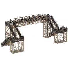 NOCH 67070 Fußgängerübergang- Überführung variabel, Grundbausatz H0