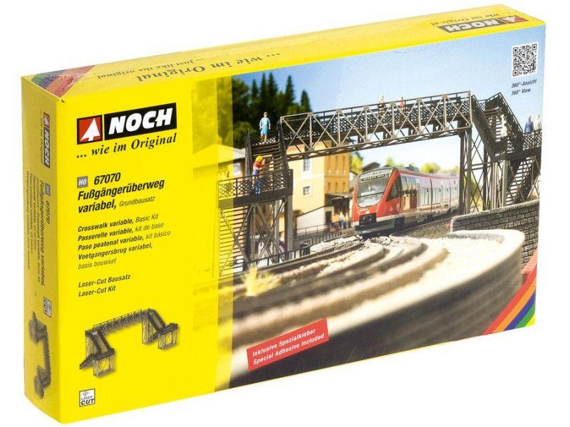 NOCH 67070 H0 Fußgängerübergang Grundbausatz NEU /& OVP +