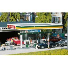 Faller 130346 Überdachte Zapfsäulen - Tankstelle H0