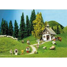 Faller 130235 Kapelle mit Wegkreuzen H0