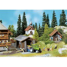 Faller 130379 Backhaus, Kapelle, Geräteschuppen H0