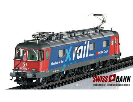 Märklin 37326 SBB Elektrolokomotive Re 6/6 Xrail Sound - H0