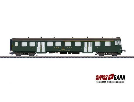 Märklin 43411 SBB Leichtstahl- Steuerwagen ABt Serie 930- 937