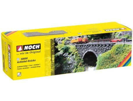 Noch 58690 Achtobel- Brücke aus Hartschaum -H0