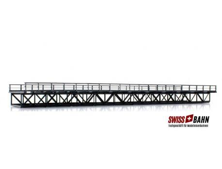 Hack MS60 Unterzugbrücke 60 cm, 2-gleisig