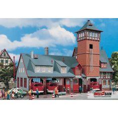 Vollmer 43767 Feuerwehrstützpunkt, fünfständig H0