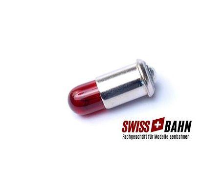 Märklin E600010 Glühbirne mit Bajonettverschluss 19V Rot