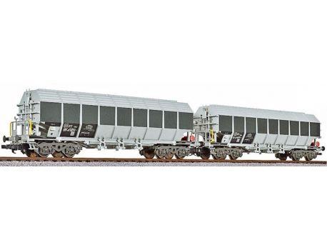 Liliput 230152 Spezialwagen Bauart Uacos - ERMEWA
