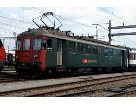 LS 17552 SBB RBe 4/4 1470 Alte Beschriftung, rote Front AC Digital