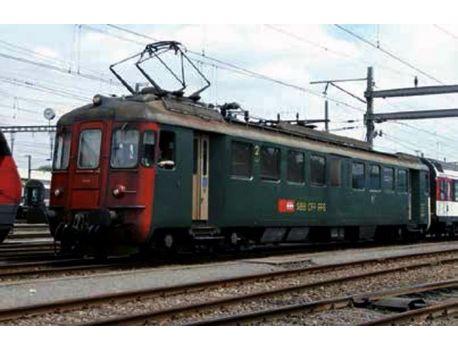 LS 17554 SBB RBe 4/4 1407 Alte Schrift, rote Front AC Digital