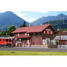 Kibri 39519 Bahnhof Bahnhof Surava- inkl. Hausbeleuchtungs- Startset.