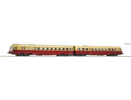Roco 79177 TEE - Dieseltriebwagenzug ALn 442/448 der FS, Sound