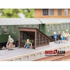 NOCH 14312 Bahnsteig Unterführung - H0