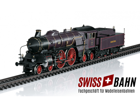 Märklin 37018 Schnellzug- Dampflok S 2/6  KBS - Mfx-plus