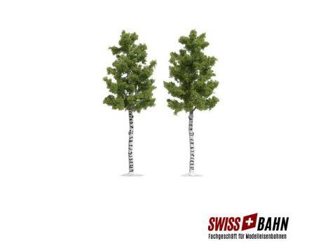 Busch 6796 Birken- Bäume 165mm mit Rinde