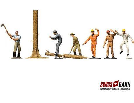 Faller 151041 Schweizer Waldarbeiter H0