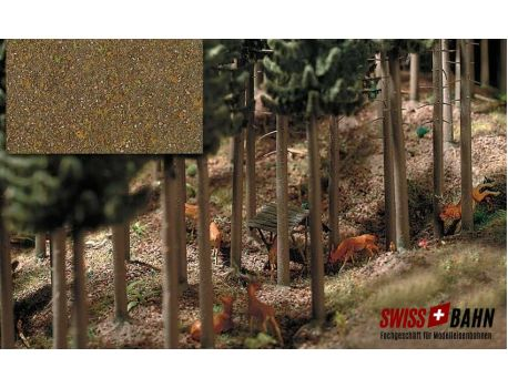 Busch 7528 Laubwald- Boden, trockenes Laub
