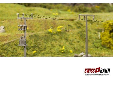 FALLER 180928 Strommasten- Freileitungsmasten H0