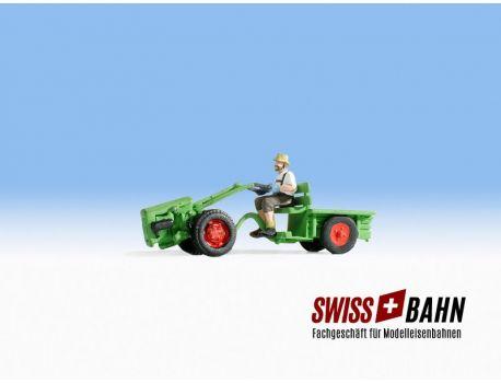 """NOCH 16750 Einachstraktor """"Green"""" H0"""