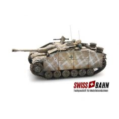 SWIBA 87.49-WY StuG III Ausführung G, Winter - Fertigmodell H0