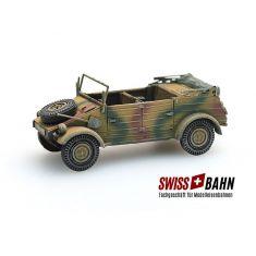 SWIBA 387.77-CM VW Typ 82 -  Patiniertes Fertigmodell H0