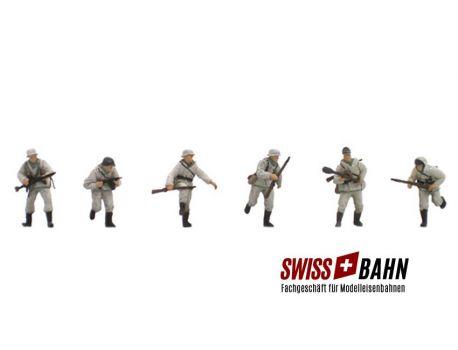 SWIBA 387.82 Wehrmachts Infanteristen Winteruniform H0