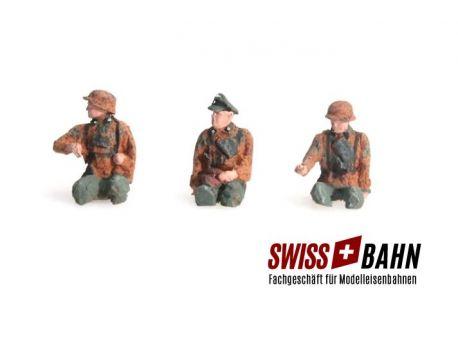 SWIBA 387.87-C1 Besatzung Kübelwagen H0