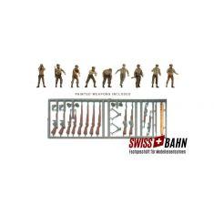 ART 387.90 US M12 Panzerbesatzung - Set mit 9 Figuren H0