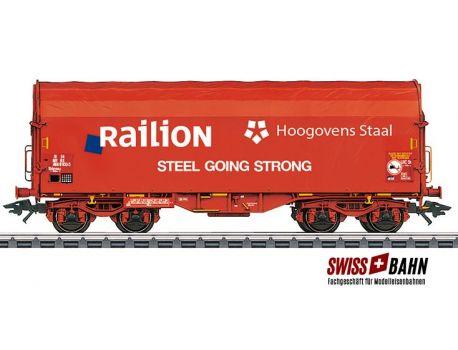 Märklin 47221.3 Railion Schiebeplanwagen Sgnss