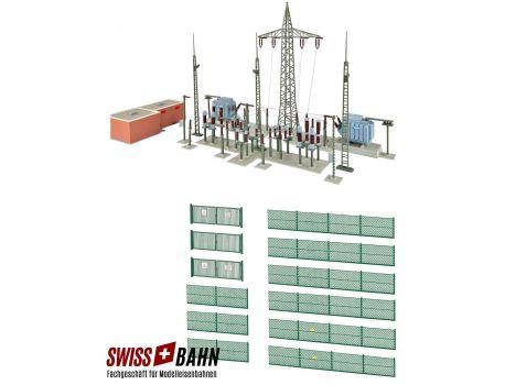 Kibri 39840 Umspannwerk EW- Baden H0 (Mit Funktion)