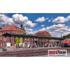 Kibri 39569 Langer Bahnsteig - Gleis Perron Kienbach H0