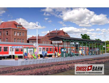 Kibri 39566 Bahnsteig Gleis Perron- Hofheim
