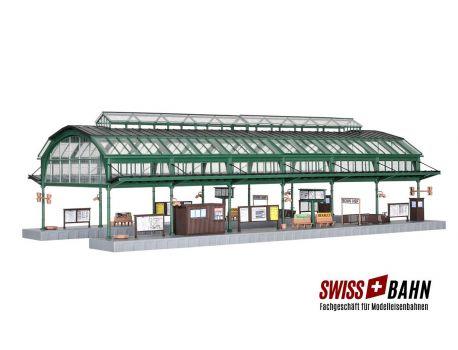 Kibri 39565 Bahnsteighalle Bonn im Eisen-Glas-System H0