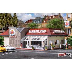 Vollmer 43632 Burger King - Restaurant mit LED Beleuchtung H0