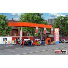 Kibri 38705 Auto Garage mit Tankstelle SB - H0
