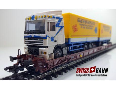 Märklin 4740.040 DB Int. - Saadkms 690, Brütsch DAF XF95
