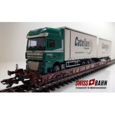 Märklin 4740.234 DB Int. - Saadkms 690, CATELLANI DAF XF105