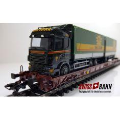 Märklin 4740-233 DB Typ Saadkms 690 - LKW - Emil Egger Schweiz