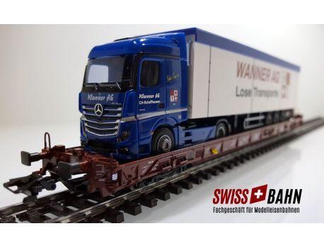 Märklin 4740-228 DB Typ Saadkms 690 - LKW - Wanner AG Schweiz