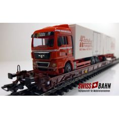Märklin 4740-200 DB Typ Saadkms 690 - LKW - Hochuli AG