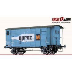 BRAWA 47837 SBB Güterwagen K2 gedeckt. Ep.III AC