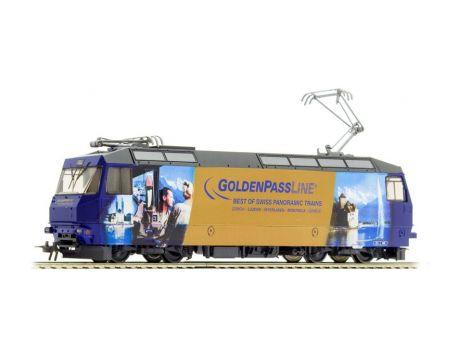 Bemo 1259 334 MOB Ge 4/4 8004 Universallok- GoldenPassLine