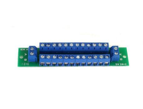 SwissBahn 450324 - Klemme 5fach - durchgehend